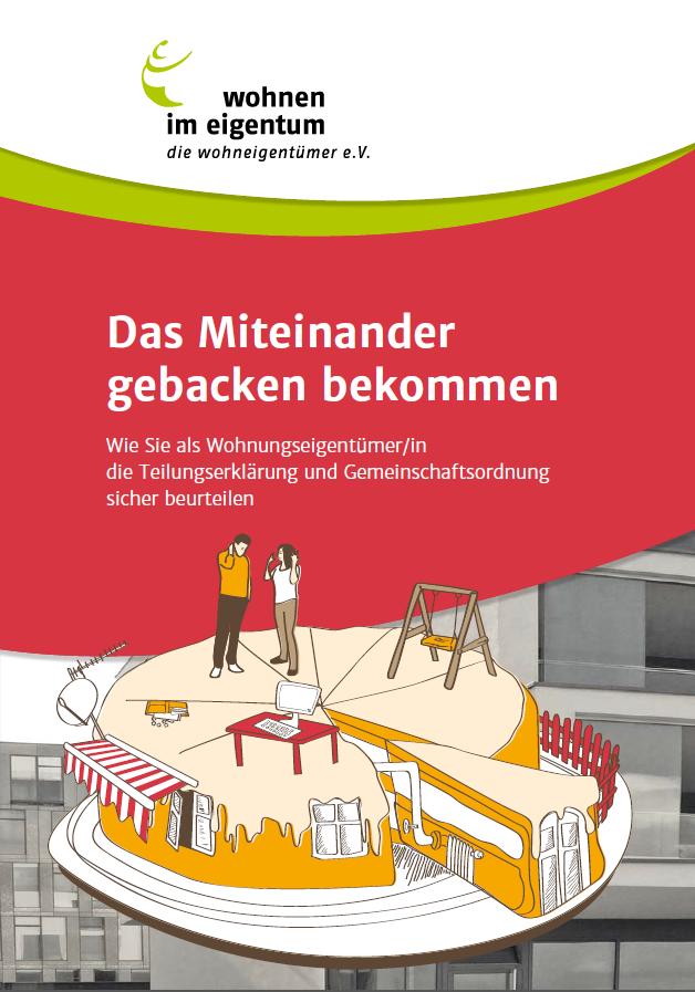 Verbraucherschutz Projekt Gemeinschaftsordnung Der Eigentumswohnung