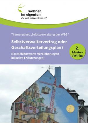 WiE-Muster-Verträge für die WEG-Selbstverwaltung
